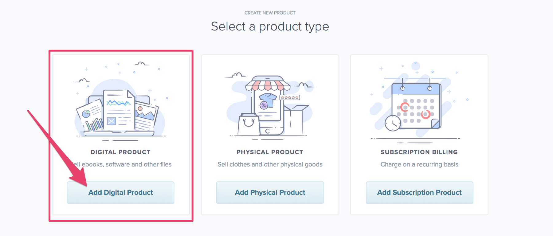add digital product to payhip